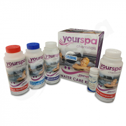 Yourspa Water Treatment Starter Kit - Chlorine